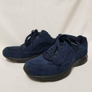 Ryka Blue Suede Catalyst Walking Shoe